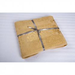 Простынь махровая 200х220 Cestepe Bamboo - Cicek голд