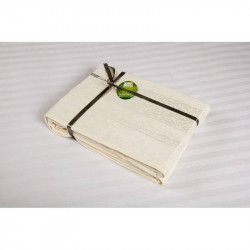 Простынь махровая 160х200 Cestepe Bamboo - Premium молочный