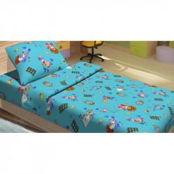 Детское постельное белье для младенцев Lotus ранфорс - JiMi голубой