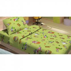 Детское постельное белье для младенцев Lotus ранфорс - JiMi салатовый