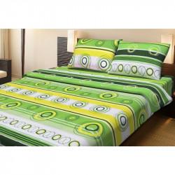 Постельное белье двуспальное Lotus Ranforce - Sweet зеленое
