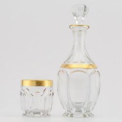 Набор для виски 7 предметов Bohemia Safari Gold b99999K-1001