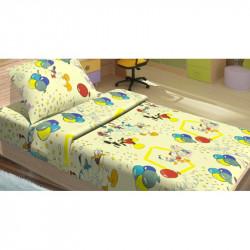 Постельное белье для подростков Lotus Young -  Donald Duck жёлтый ранфорс