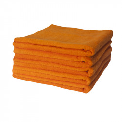 Полотенце 30х50 Lotus Отель - Оранжевое