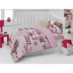 Детское постельное белье для младенцев Nazenin - Dance ранфорс