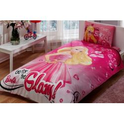 Постельное белье 160х220 подростковое Tac Disney - Barbie Glam