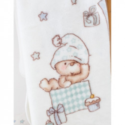Детский плед в кроватку Karaca Home 100Х120 - Funny Bears 2017-1
