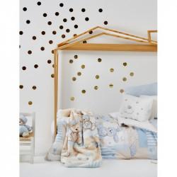 Детский плед в кроватку Karaca Home 100Х120 - Honey Bunny blue 2017-1