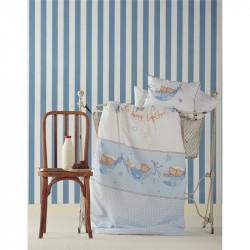 Детский плед в кроватку Karaca Home 100х120 - Mel белый