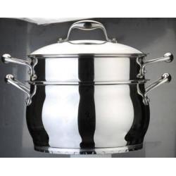 Кастрюля BergHOFF Zeno со вставкой для приготовления спагетти д. 24 см.