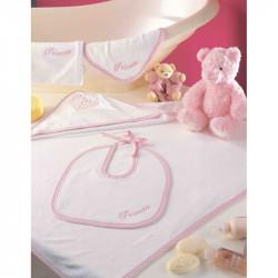 Набор полотенец для младенцев Tac - Princess Seti розовый