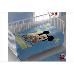 Плед для младенцев Tac Disney 110х140 - Mickey Baby голубой