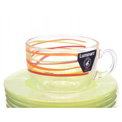 Сервиз чайный 12пр Luminarc Rubans N3670
