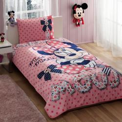Покрывало хлопковое Tac Disney подростковое - Minnie Mouse Dream