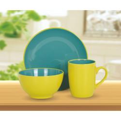 Сервиз для завтрака Limited Edition Bicolor Green 3 пр. MB16S412