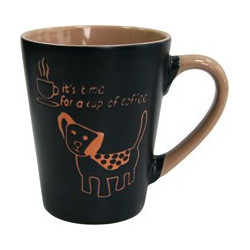 Кружка 320мл Milika Coffee Dog Azur M0420-38022C