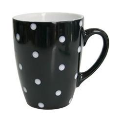 Кружка 320мл Milika Funny Dots Black M0420-8024C