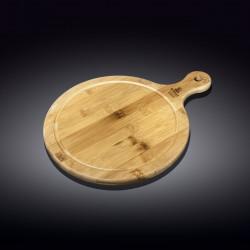 Блюдо круглое сервировочное с ручкой 14,5х10см Wilmax Bamboo WL-771093