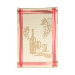 Полотенце кухонное жаккардовое Home Line 40х60 Вино