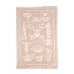 Полотенце кухонное жаккардовое Home Line 40х60 Посуда