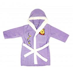 Детский махровый халат Home Line 9-10л. лиловый