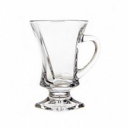 Набор чашек для кофе 6 предметов Bohemia Quadro 2N772 99A44 100