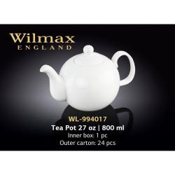 Чайник Wilmax заварочный 800мл WL-994017