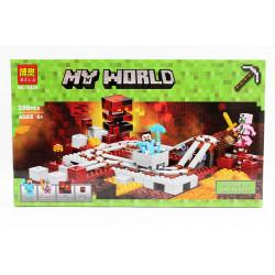 Конструктор Bela Minecraft 10620 399д