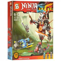 "Конструктор Senco Ninja SY857 ""Битва: Робот с мотоциклом"" 530д"
