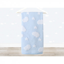 Полотенце детское Irya - Cloud 70х120 голубое