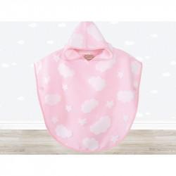 Пончо детское Irya - Cloud Pancosu 60х60 розовое