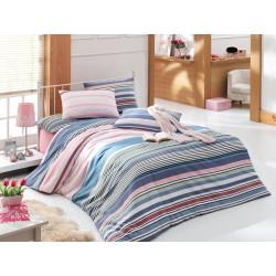 Комплект постельного белья полуторное LightHouse Lines розовый