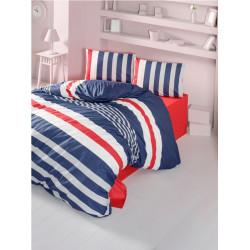 Комплект постельного белья семейное LightHouse ranforce Stripe