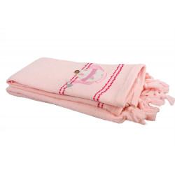 Набор кухонных полотенец 40х60 2шт Fiesta - Teapot розовый