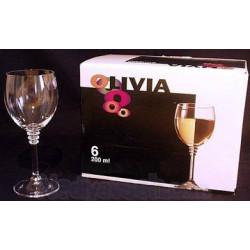 Бокалы для вина Bohemia Olivia 200 мл-6шт