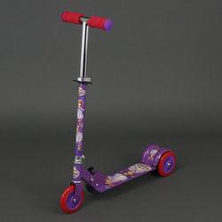 Самокат 466-363 фиолетовый
