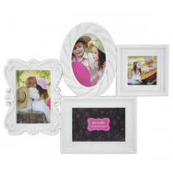 Рамка для фото белая frame EVG BIN 1124274 White Collage 4 ( BIN-1124274 )
