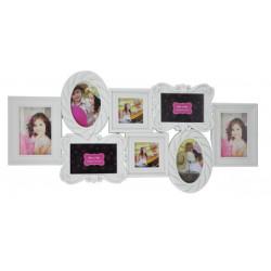 Рамка для фото белая frame EVG BIN 1124277 White Collage 8 ( BIN-1124277 )