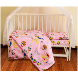Постельное белье для младенцев ТЕП - Игрушка розовая