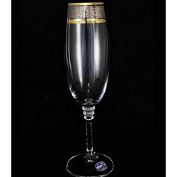 Бокалы для шампанского Bohemia Olivia (43249) 190 мл-6шт