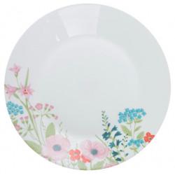 Тарелка обеденная 25 см Luminarc Essence Rose Pompon N1264