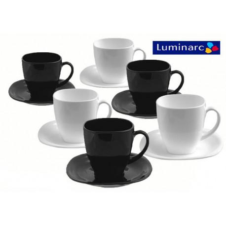 Набор чайный 12пр Luminarc Carine Black&White d2371