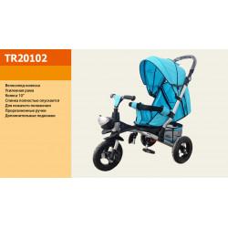 Велосипед 3-х колесный TR20102 Голубой