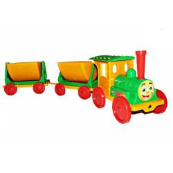 Поезд-конструктор с 2 прицепами 013118