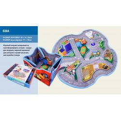 Корзина-сундук для игрушек 2в1 с ковриком 026A 1576080