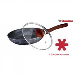 Сковорода 24см черная Vissner VS7532-24