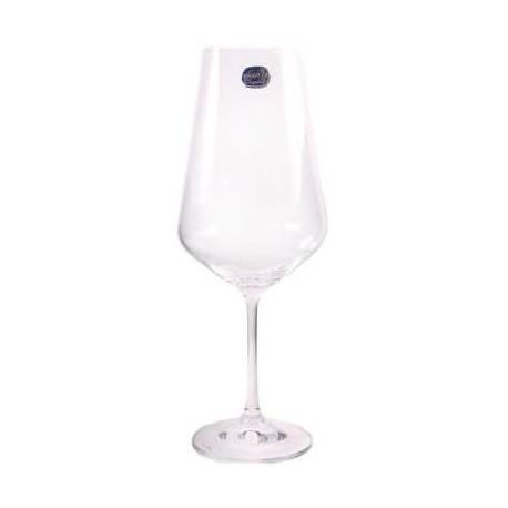 Бокалы для вина Bohemia Sandra 450 мл-6шт