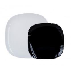 Сервиз столовый 12 пр Luminarc Lotusia Black/White N5229