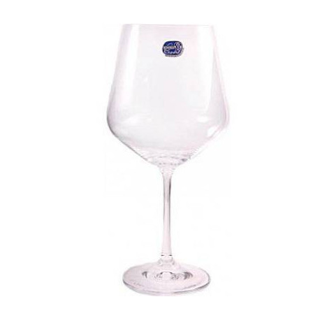 Бокалы для вина Bohemia Sandra 570 мл-6шт