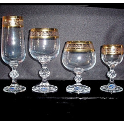 Набор бокалов 24 предмета Bohemia Claudia (43081)